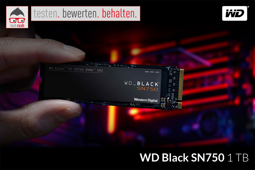 Produkttest WD Black SN750 1 TB, Solid State Drive
