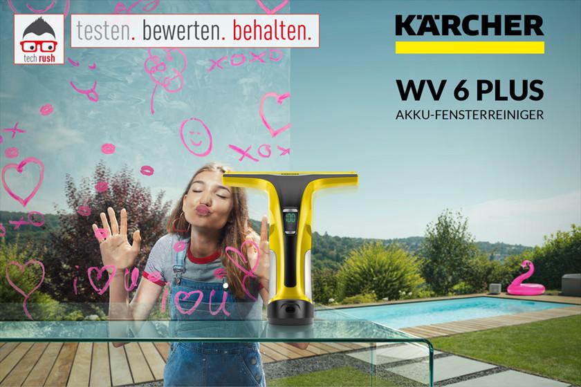 Produkttest Kärcher Fenstersauger WV 6 Plus