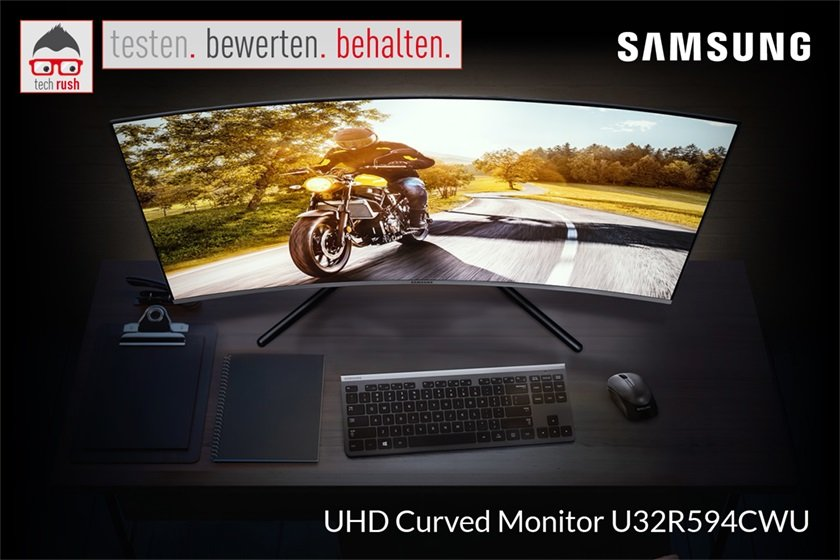 Produkttest Samsung 32 L U32R594CWU