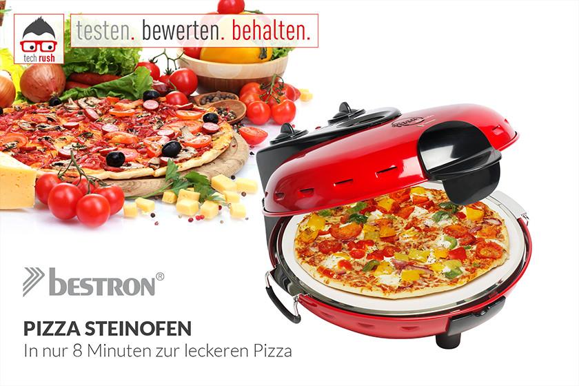 Produkttest Bestron Pizzaofen DLD9070
