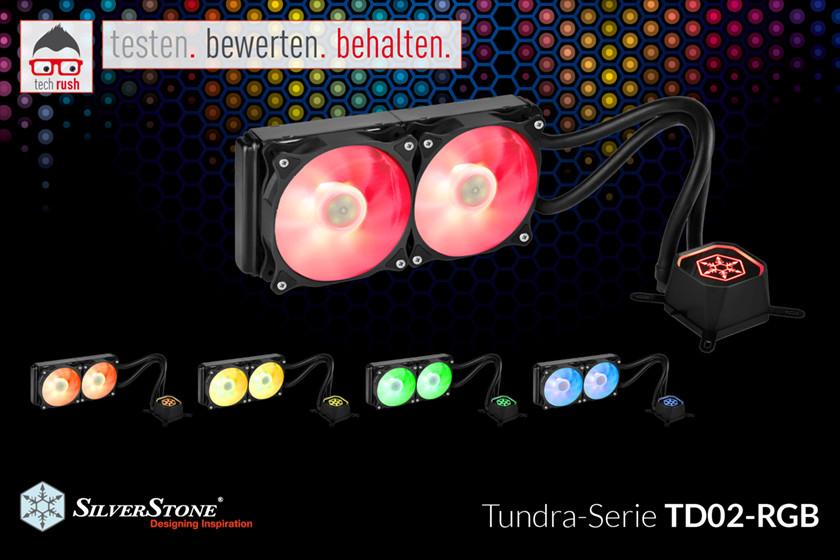 Produkttest SilverStone SST-TD02-RGB, Wasserkühlung