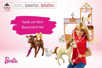 """Produkttest Mattel Barbie """"Spaß auf dem Bauernhof"""" Vet, Puppe"""