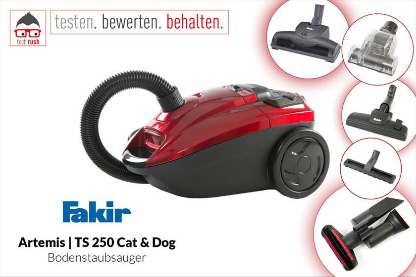 Produkttest Faki Bodens Artemis TS 250 Cat & Dog