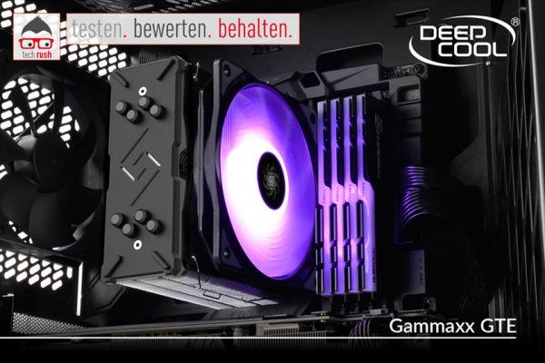 Produkttest Deepcool Gammaxx GTE, CPU-Kühler