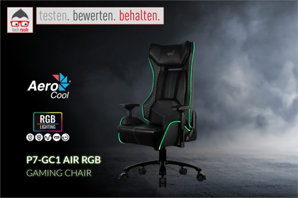 Produkttest Aerocool Aerocool P7-GC1 AIR RGB, Spielsitz