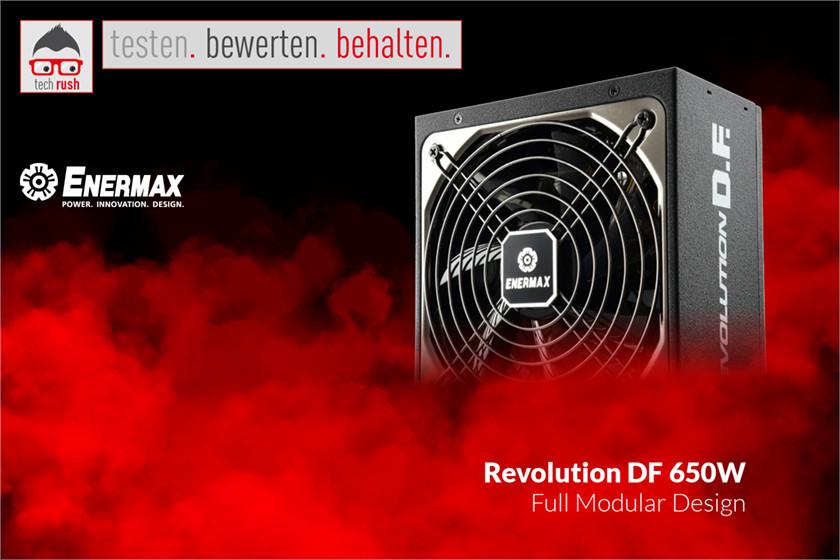 Produkttest Enermax Revolution DF 650W, PC-Netzteil