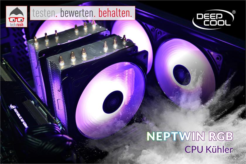 Produkttest Deepcool Neptwin RGB, CPU-Kühler