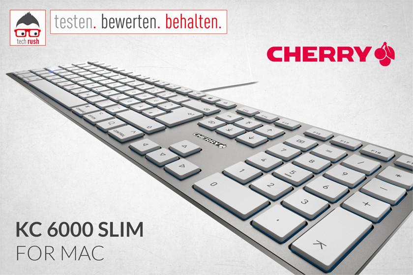 Produkttest CHERRY KC 6000 SLIM FOR MAC, Tastatur