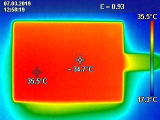 Samsung Portable SSD T5 Wärmeentwicklung