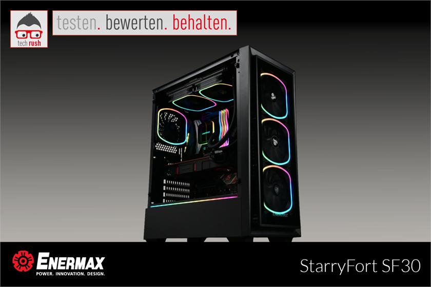 Produkttest Enermax StarryFort SF30 ATX, PC-Gehäuse