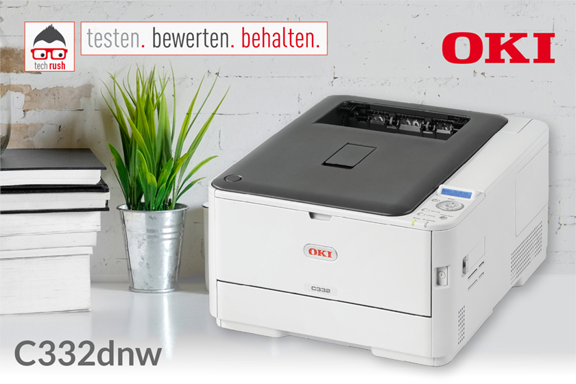 Produkttest  OKI C332dnw, LED-Drucker