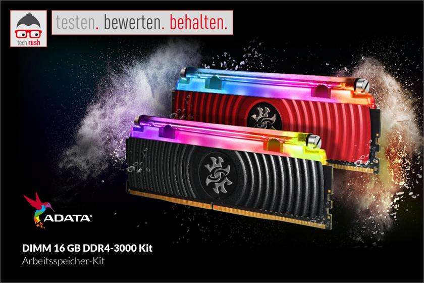 Produkttest ADATA DIMM 16 GB DDR4-3000 Kit, Arbeitsspeicher