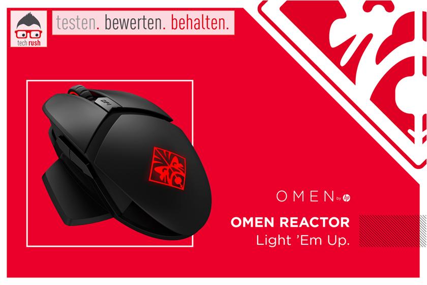 Produkttest OMEN by HP Reactor, Maus