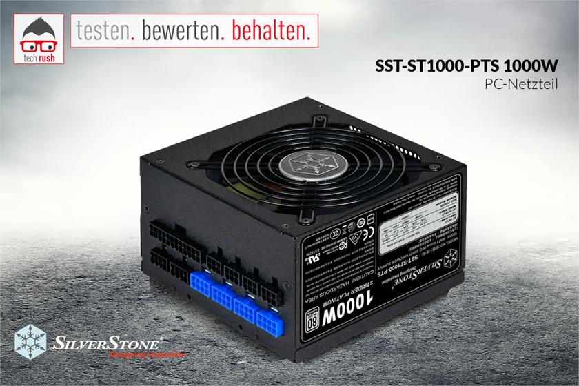 Produkttest SilverStone SST-ST1000-PTS 1000W ATX Netzteil