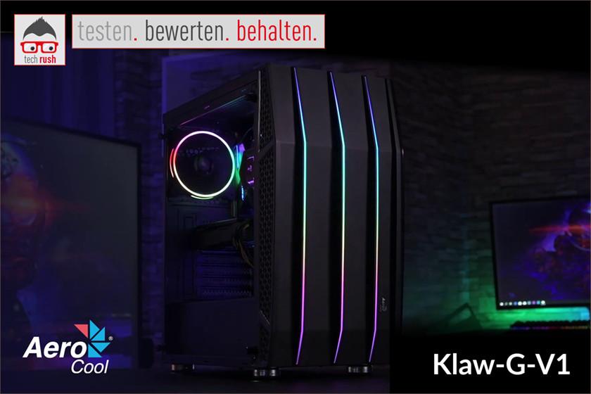 Produkttest Aerocool Klaw-G-V1, Tower-Gehäuse