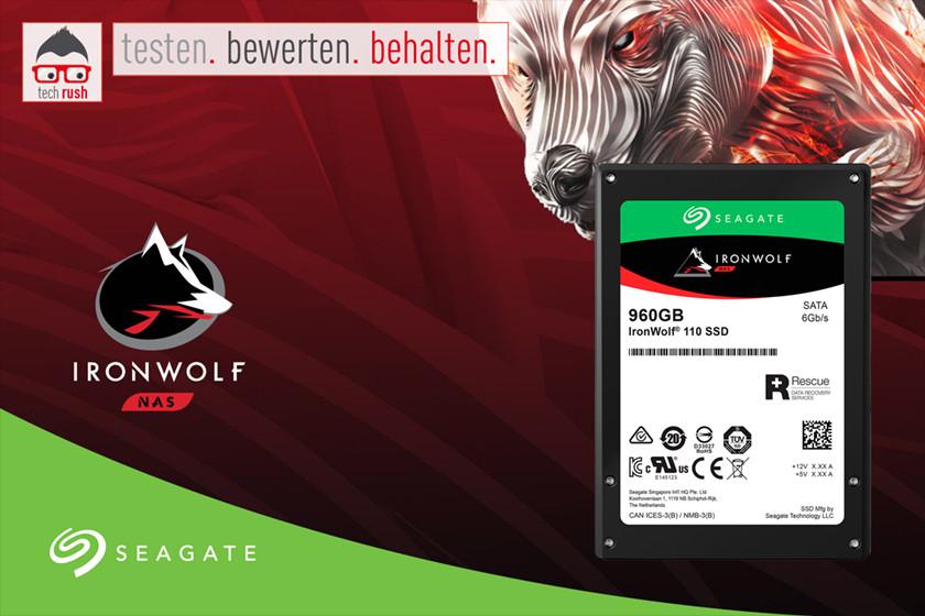 Produkttest IronWolf 110 SSD 960 GB
