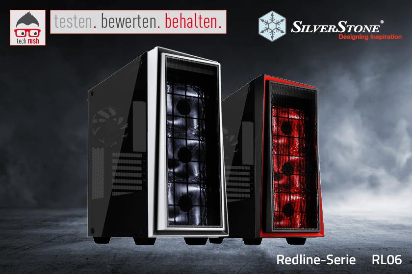 Produkttest SilverStone SST-RL06WS-GP, Tower-Gehäuse