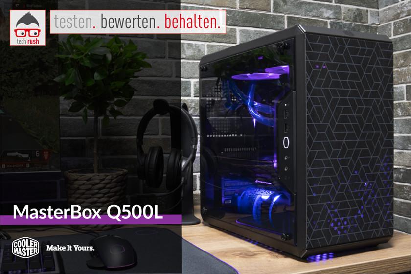 Produkttest MasterBox Q500L, Gehäuse