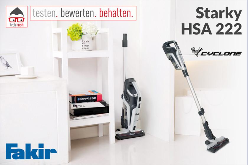 Produkttest Hand- Stiel-Staubsauger Starky | HSA 222