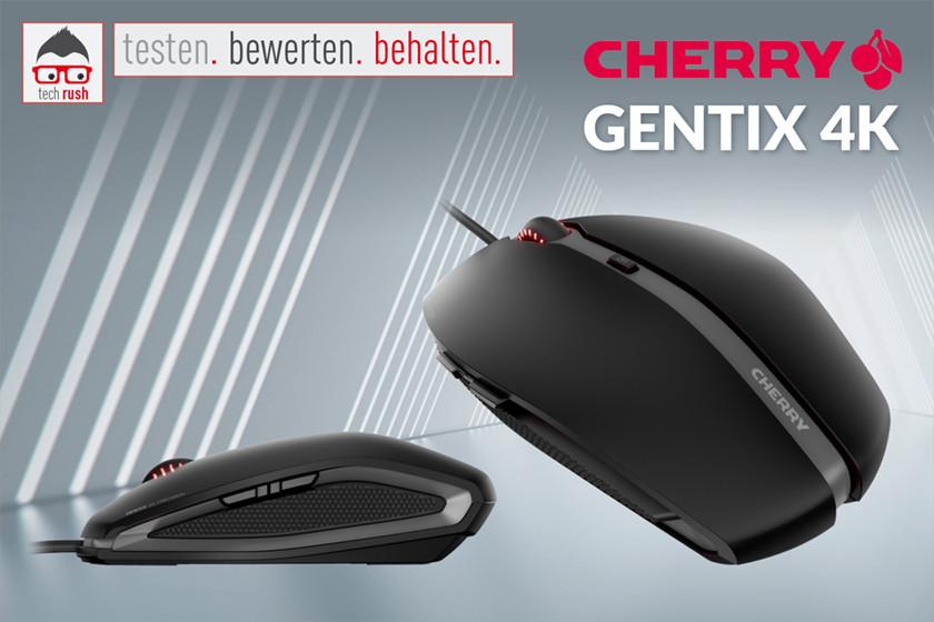 Produkttest CHERRY GENTIX 4K, Maus