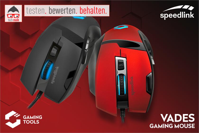 Produkttest Speedlink VADES Gaming Maus