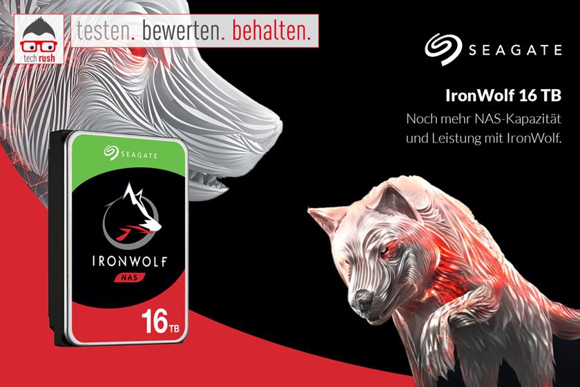 Produkttest Seagate IronWolf 16 TB, Festplatte