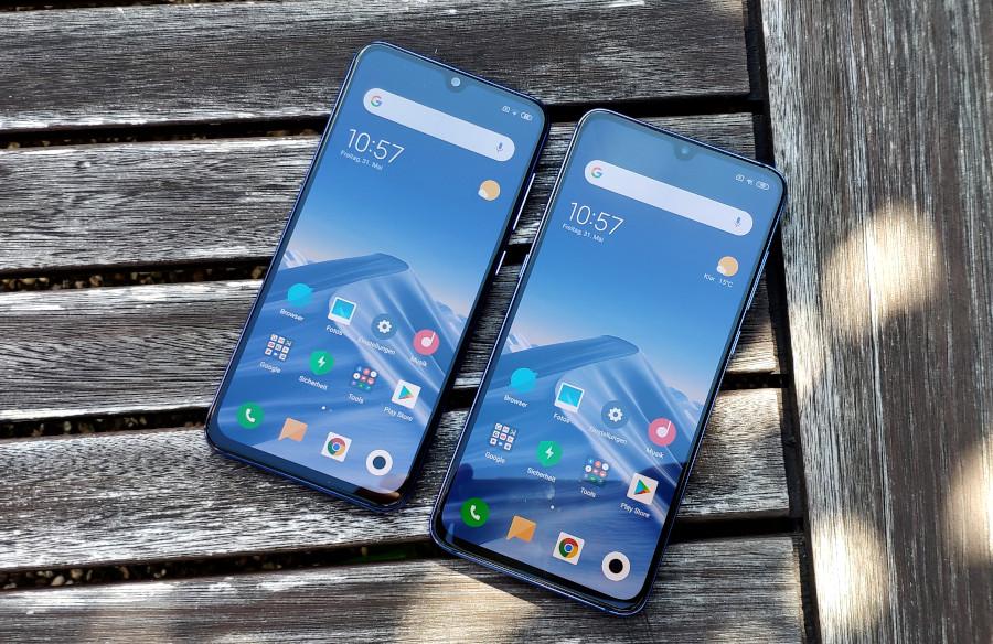 Xiaomi Mi 9 und Mi 9 SE Display Vergleich
