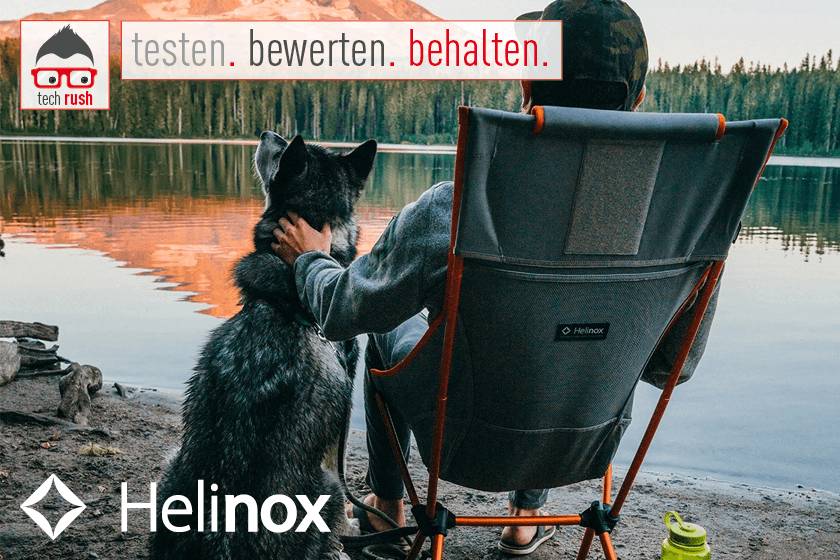 Produkttest Helinox Sunset Chair 11136R1, Stuhl
