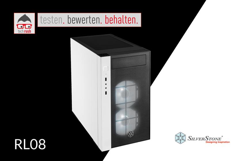 Produkttest SilverStone SST-RL08BW-RGB, Tower-Gehäuse