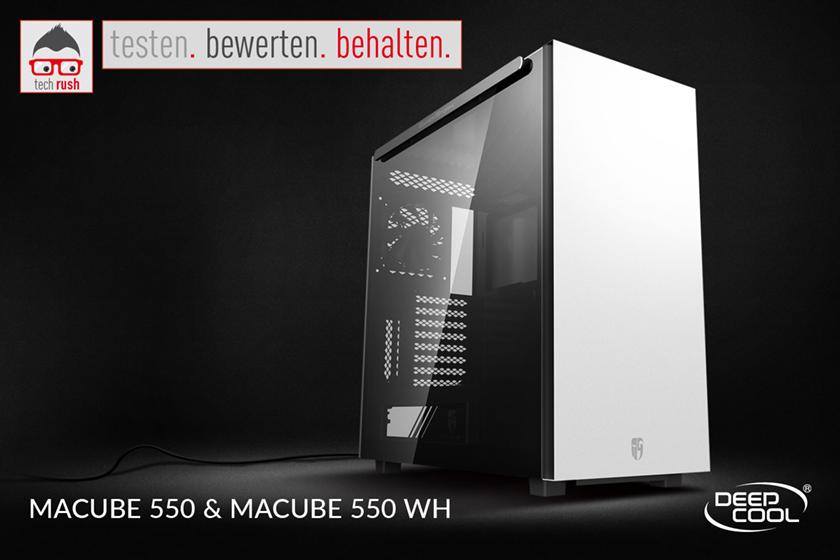 Produkttest Deepcool MACUBE 550, Gehäuse