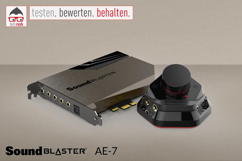 Creative Labs Sound Blaster AE-7, Soundkarte Test