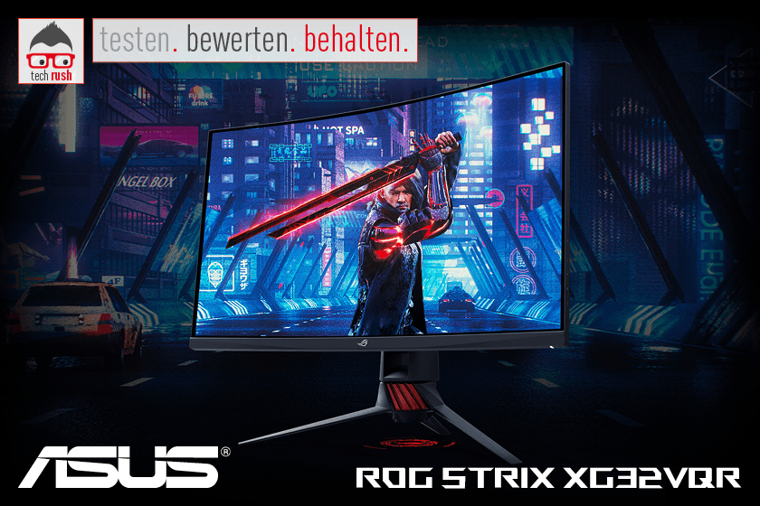 ASUS ROG STRIX XG32VQR, LED-Monitor Test