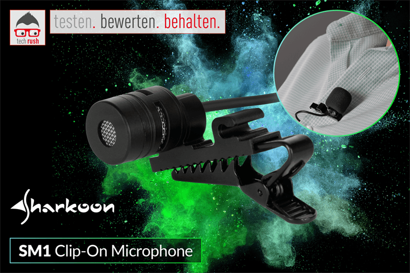 Produkttest Sharkoon SM1, Mikrofon