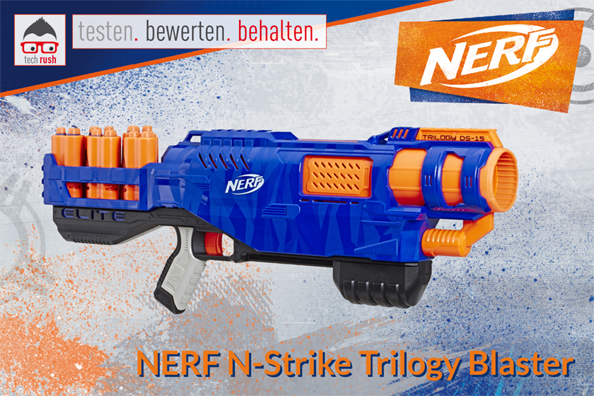 Produkttest Nerf Nerf N-Strike Elite Trilogy DS-15