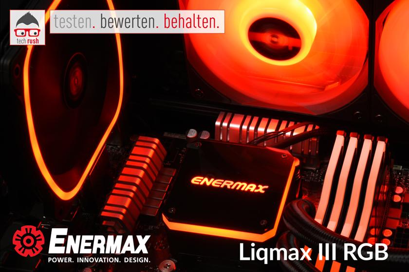 Produkttest Enermax Liqmax III RGB 120 mm