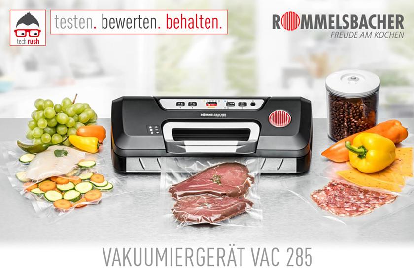 Rommelsbacher Vakuumiergerät VAC 285 Produkttest