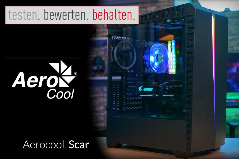 Produkttest Aerocool Scar, Tower-Gehäuse
