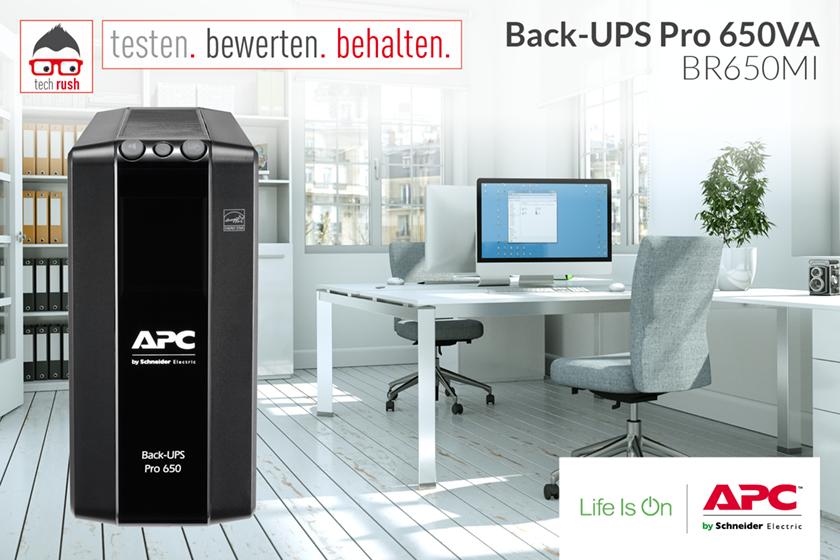 Produkttest APC APC Back-UPS Pro 650VA BR650MI