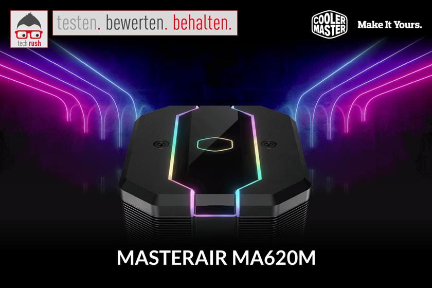 Produkttest CooMas MasterAir MA620M, CPU-Kühler