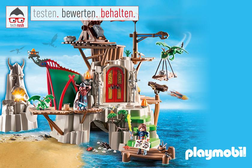 Produkttest PLAYMOBIL 9243 Berk, Konstruktionsspielzeug