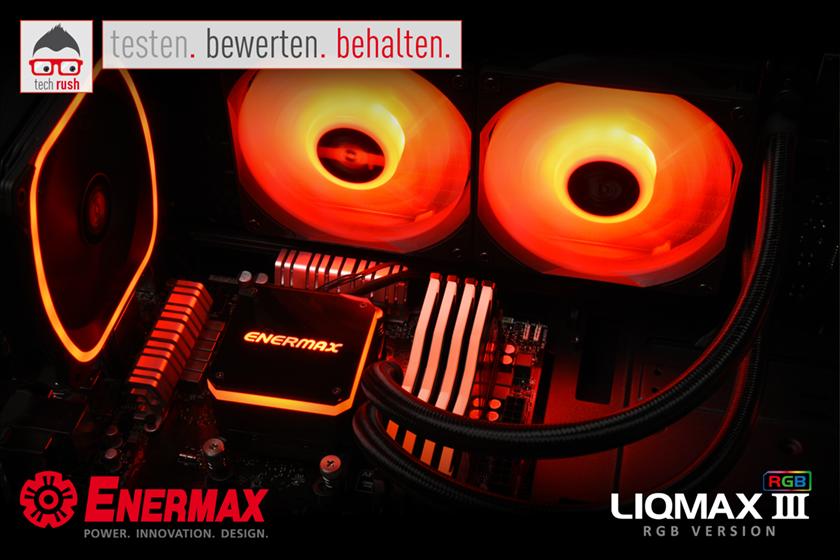 Produkttest Enermax Liqmax III RGB 240 mm, Wasserkühlung