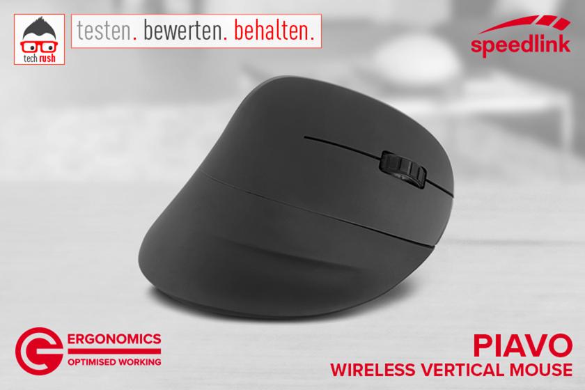 Produkttest Speedlink PIAVO Ergonomic Vertical Mouse, Maus