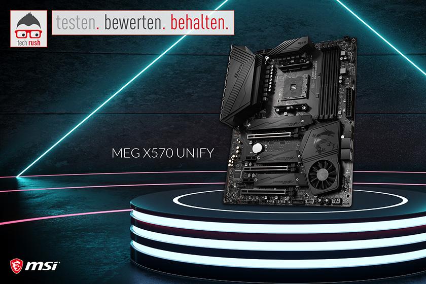 Produkttest MSI MEG X570 UNIFY, Mainboard