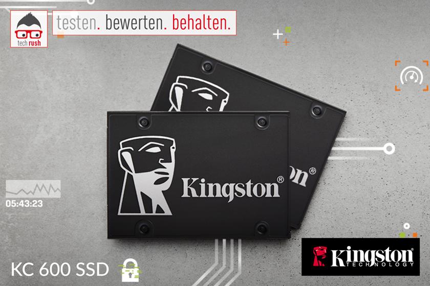 Produkttest Kingston KC600 512 GB