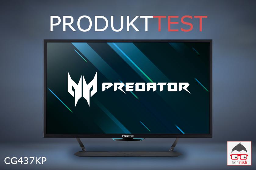 Acer Predator CG437KP test