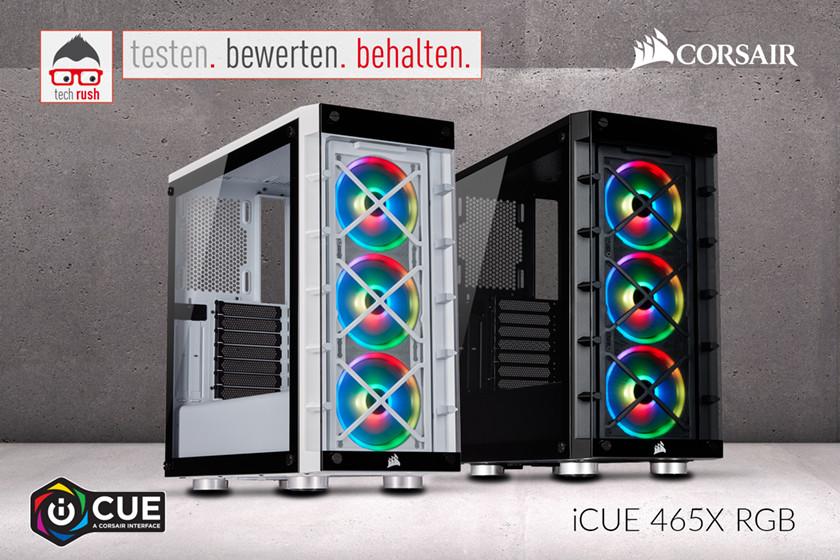 Produkttest Corsair iCUE 465X RGB