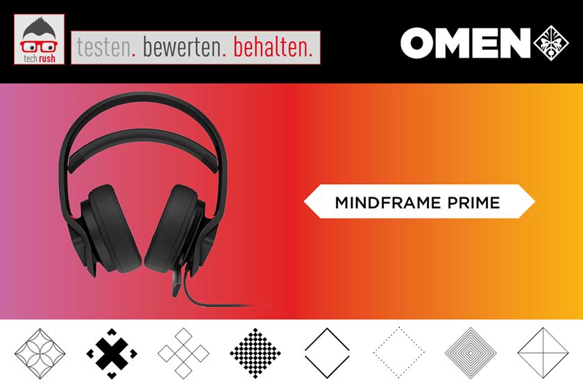 Produkttest OMEN by HP Mindframe Prime Headset bk