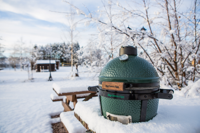 Wintergrillen, Grillen im Winter, Big Green Egg, Kamado Grill