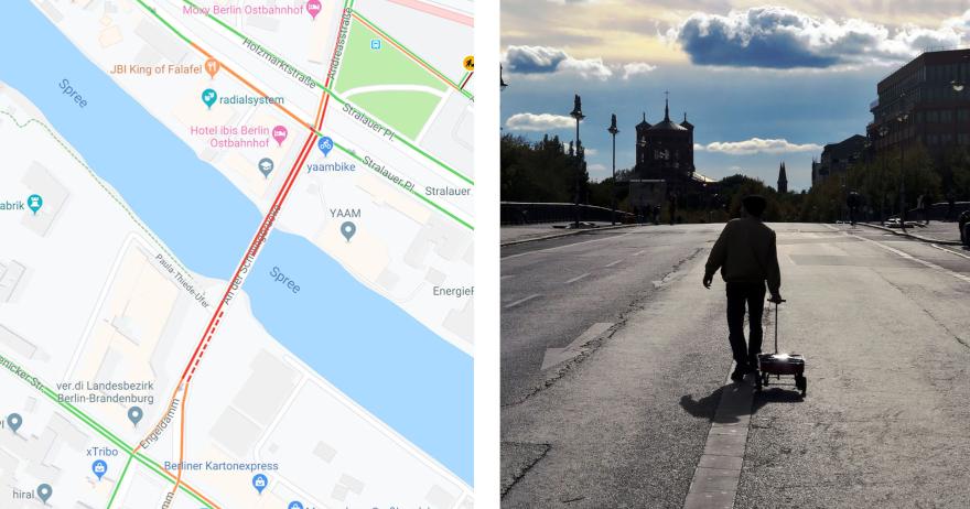 Maps.Google.De Stau